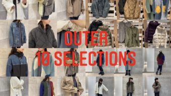 今着れる・これから着たいアウター10選・smooth札幌ステラプレイス店